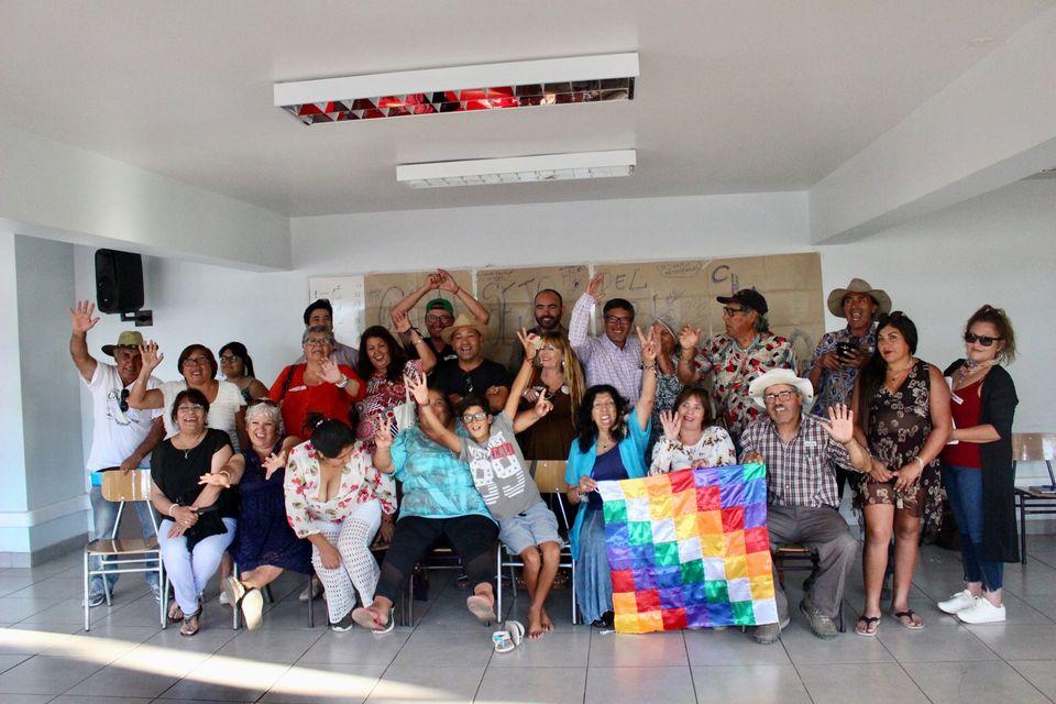 Reunión del Consejo Nacional del Pueblo Chango en enero de 2020