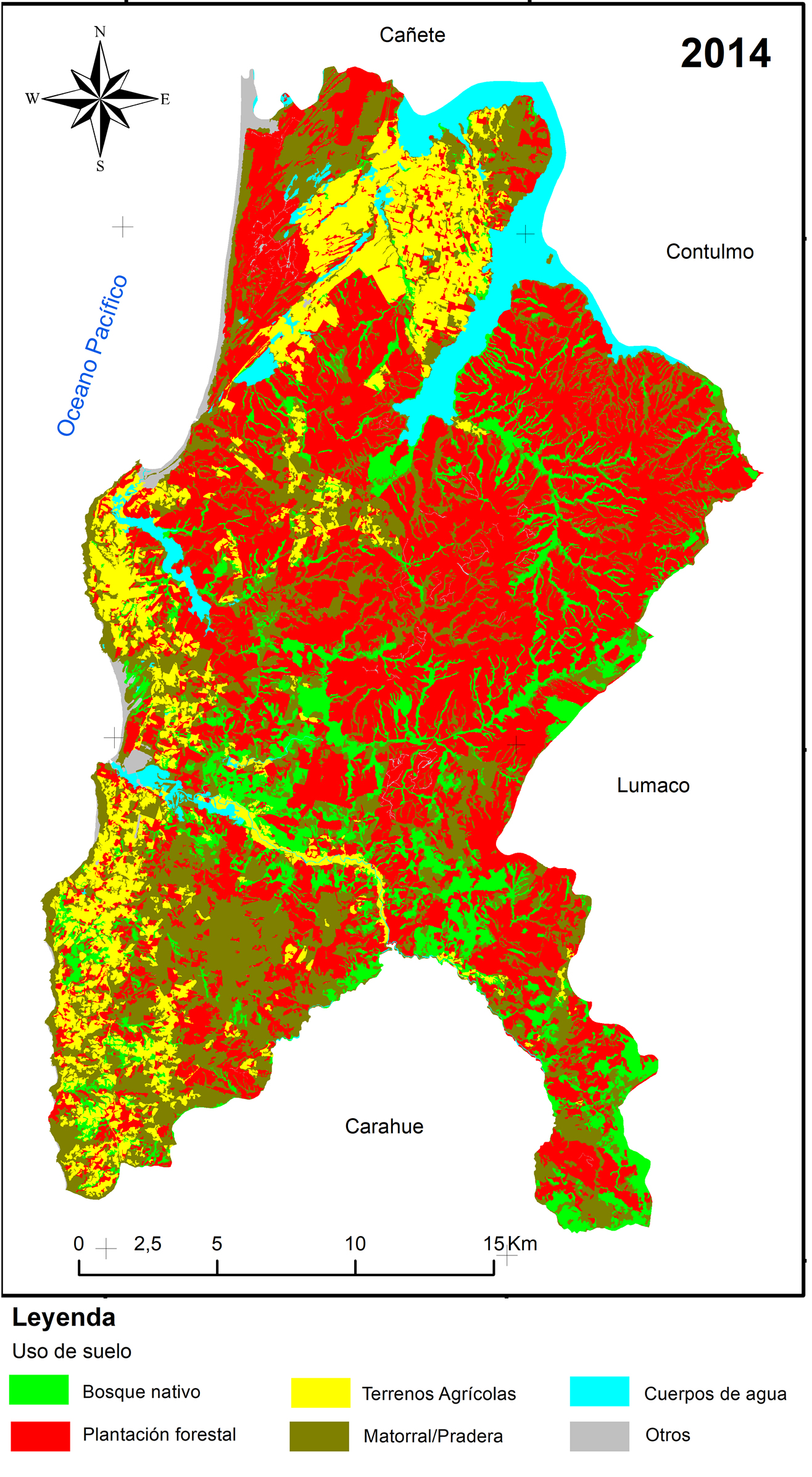 Mapa del estudio
