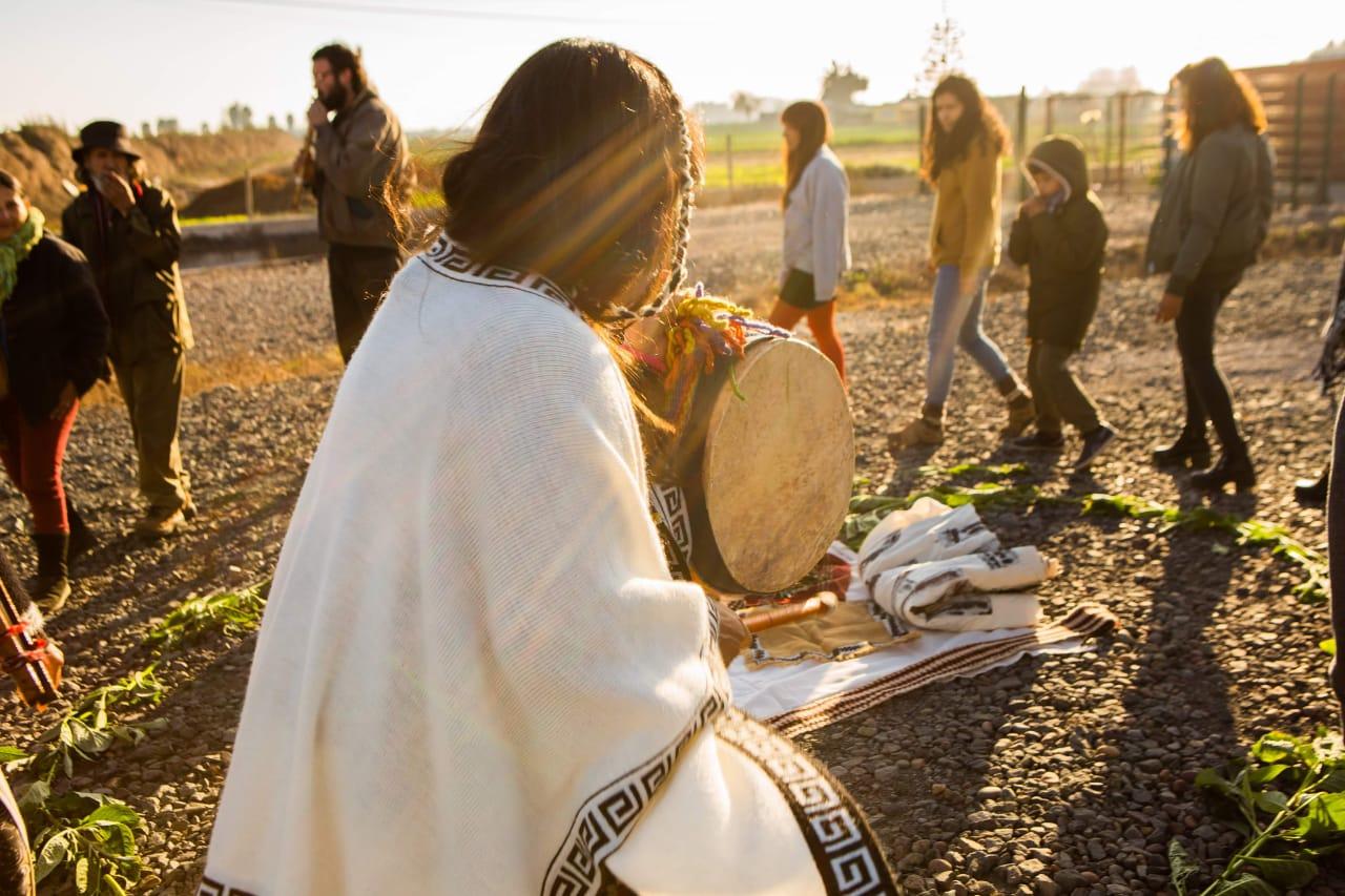 Ceremonia diaguita. Fotografía Emilia del Canto