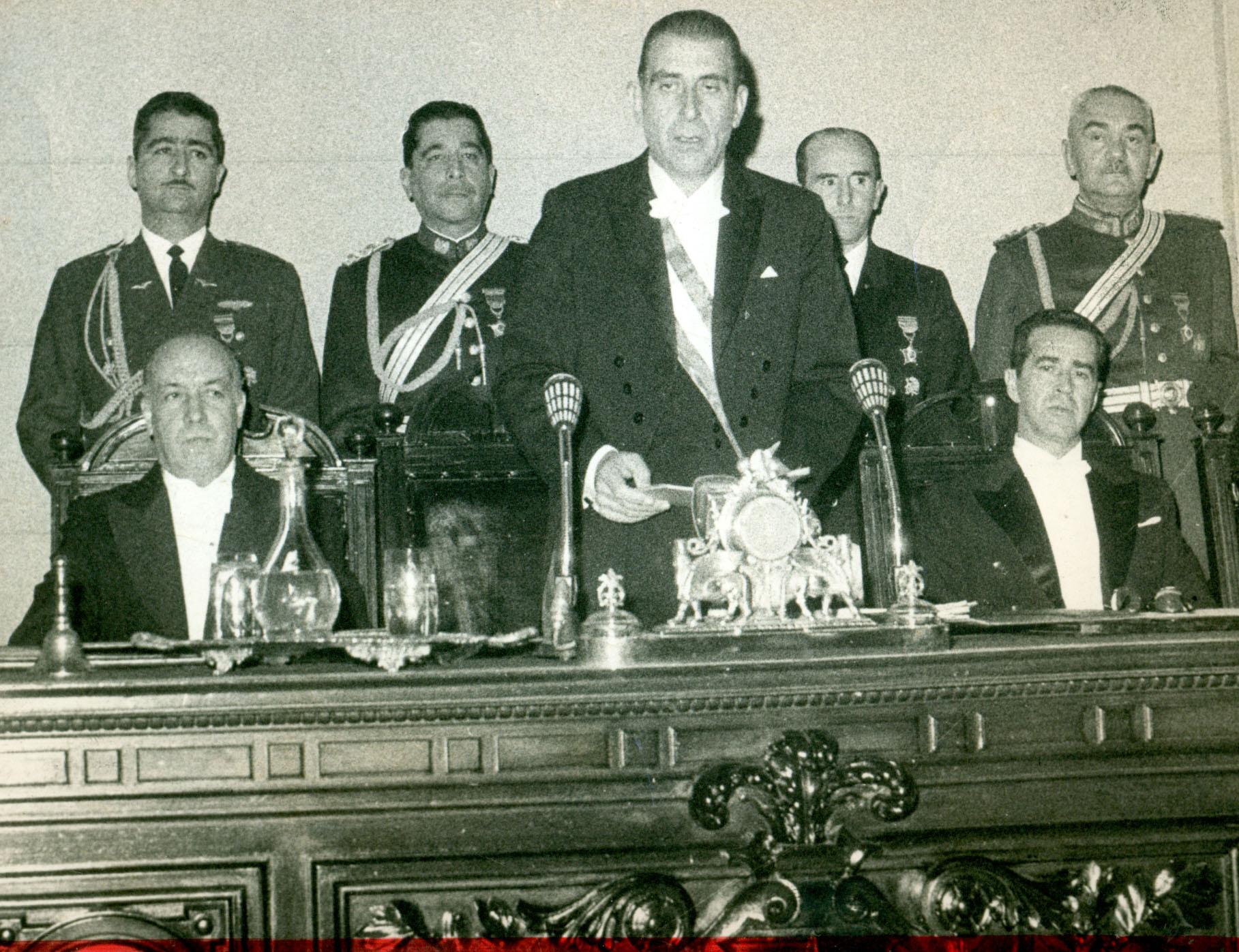 A Frei le costó asumir el triunfo de Allende