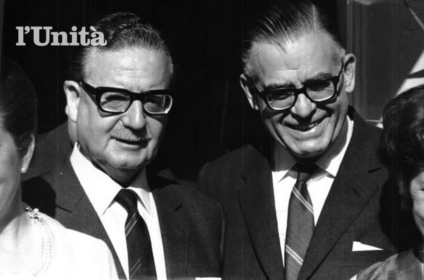 Allende y Radomiro Tomic