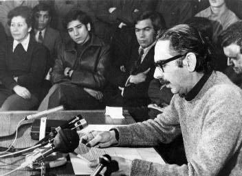 Altamirano no apoyó a Allende en enero de 1970
