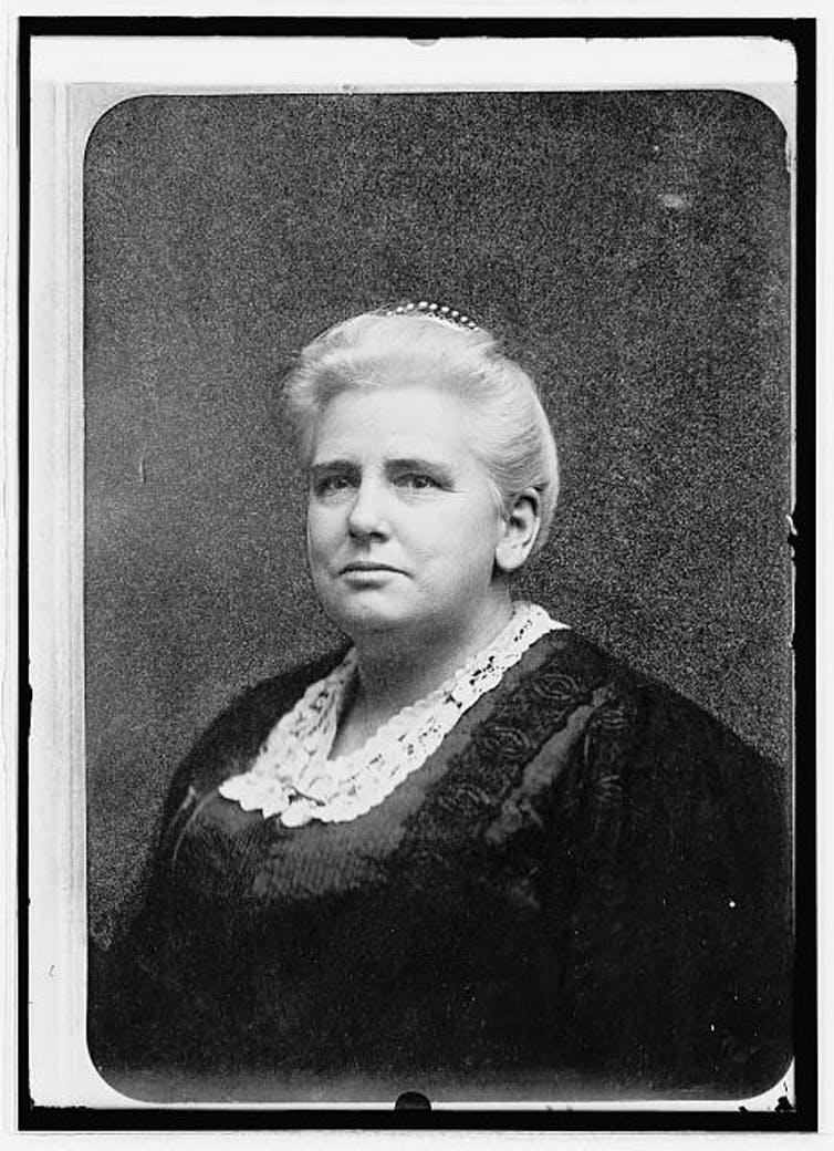 Anna Shaw. Bilbioteca del Congreso de Estados Unidos