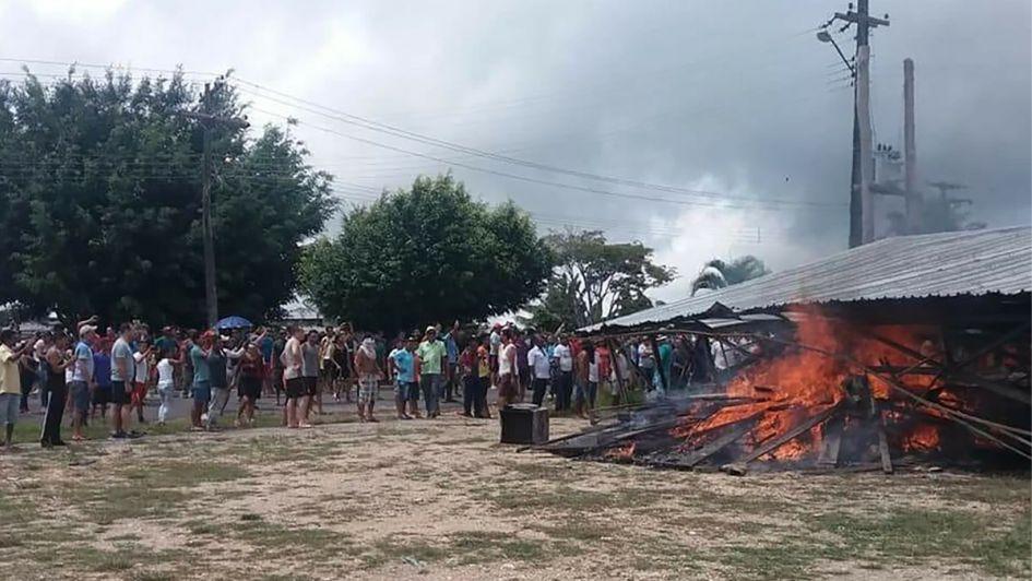 Ataques contra venezolanos en el norte de Brasil.