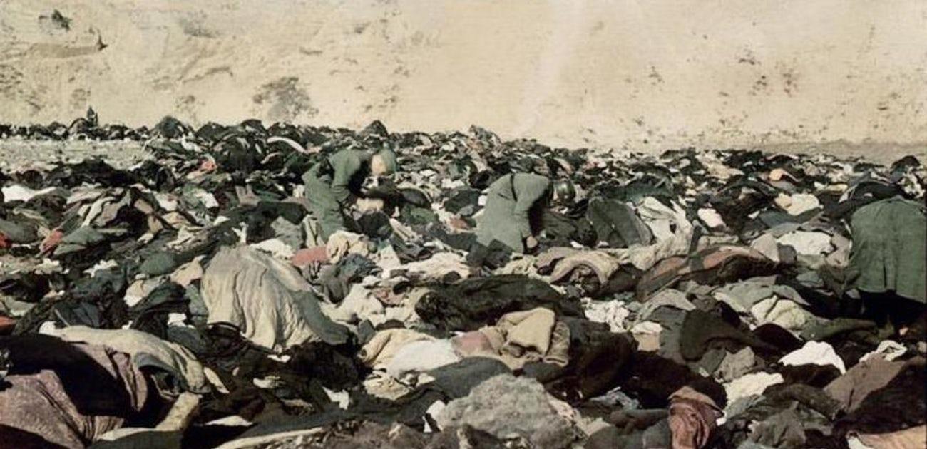 La única imagen de la primera matanza de Babi Yar
