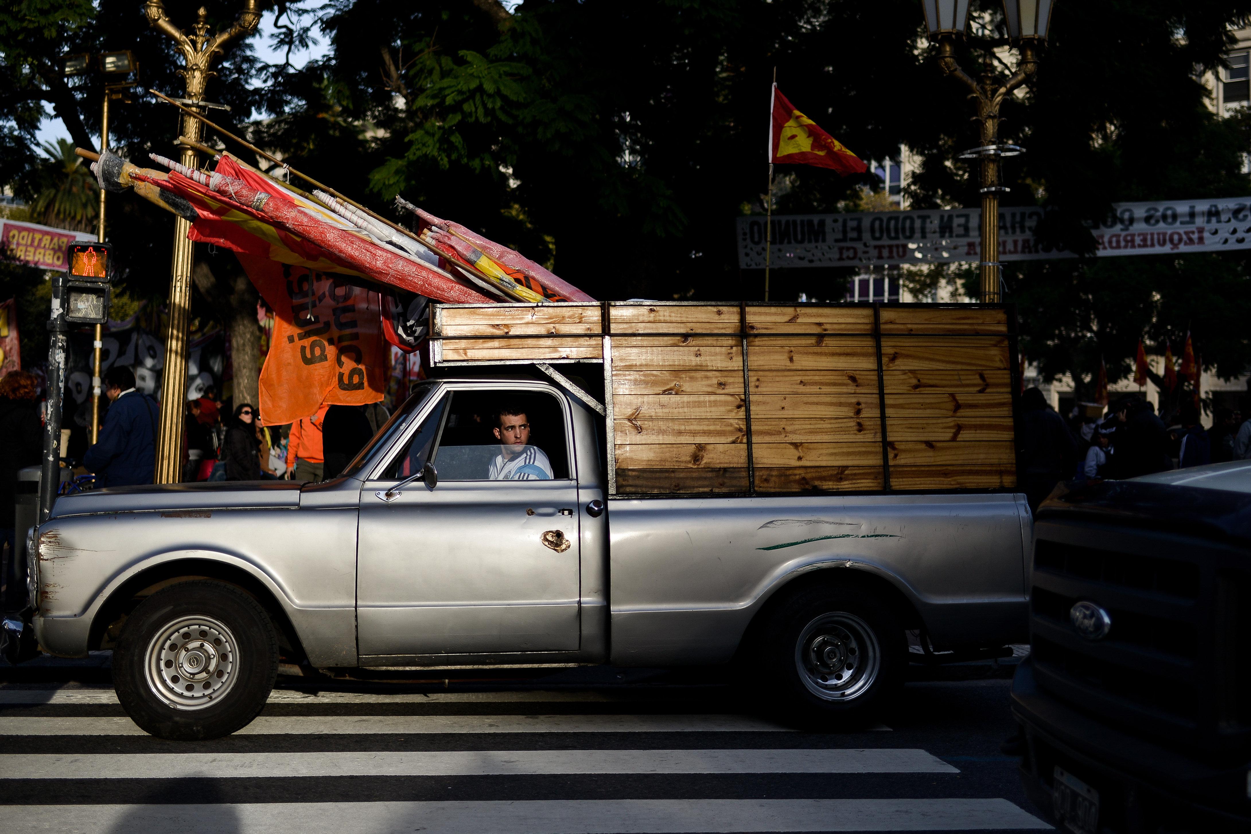 Alfonso González / Migrar Photo / Manifestación de la oposición en Argentina