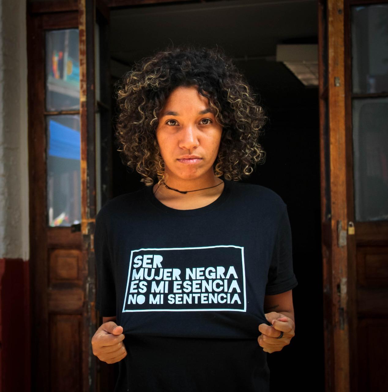 Camila Lima, integrante del colectivo Microsesionesnegras