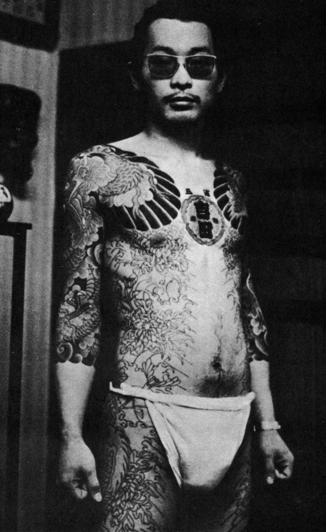 Los tatuajes, elemento fundamental de la cultura yakuza.