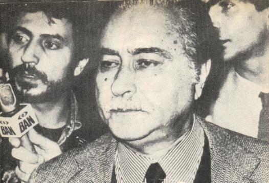 Humberto Ortolani, jefe de la inteligencia italiana