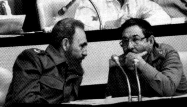 Raúl y Fidel