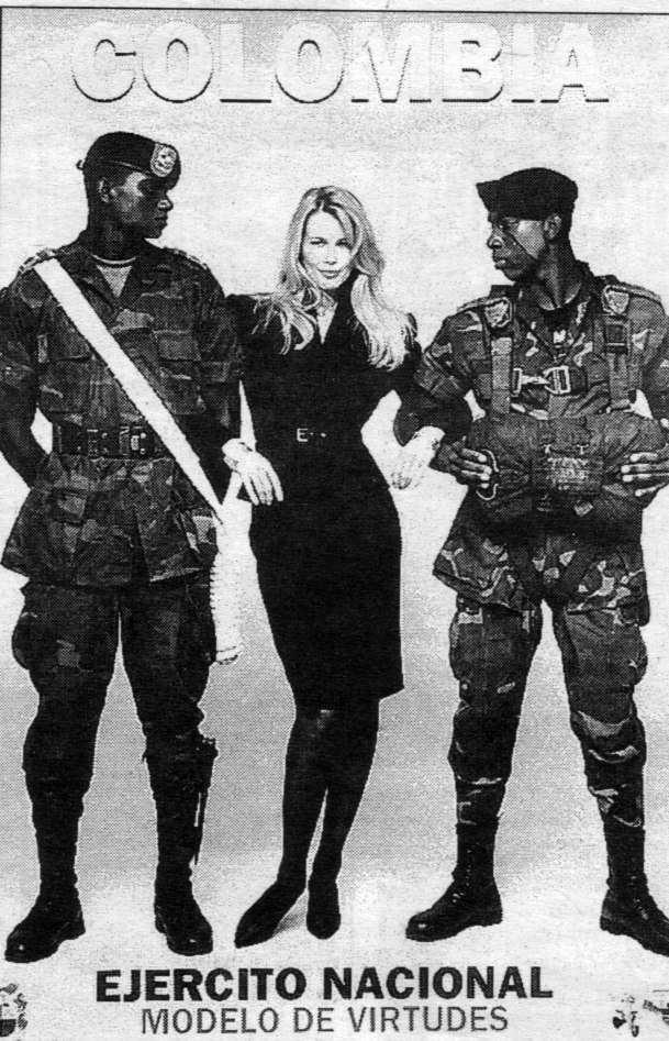 Afiche del ejército colombiano