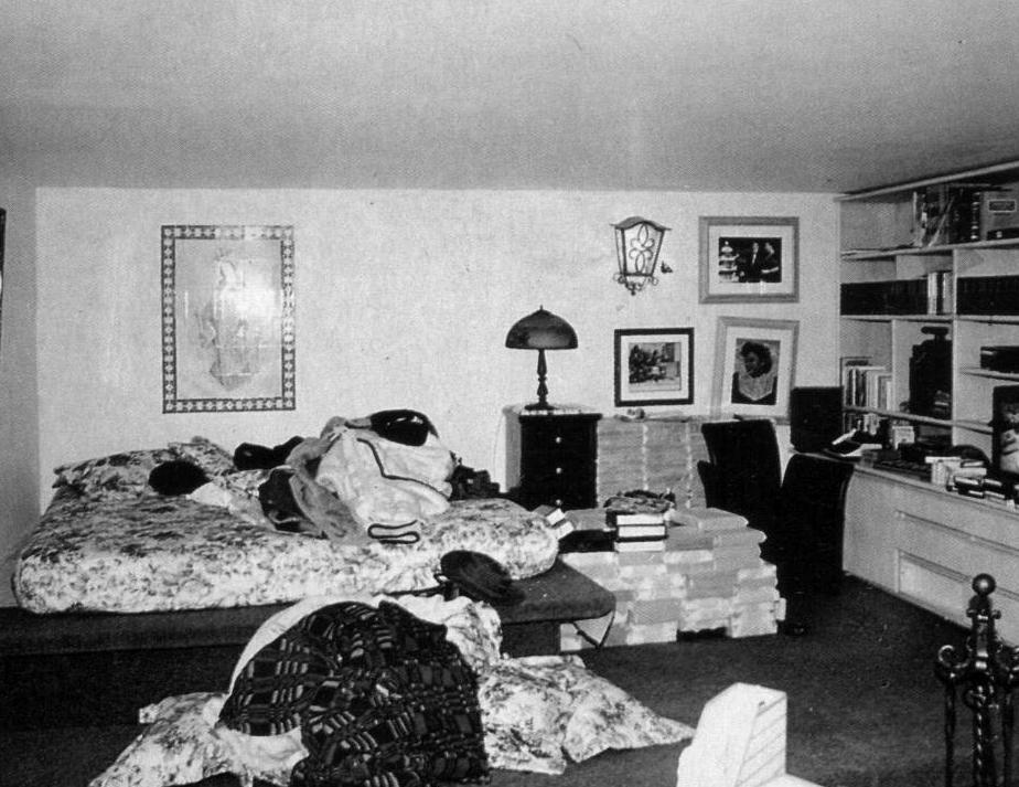 Dormitorio de Pablo Escobar en la cárcel de Envigado