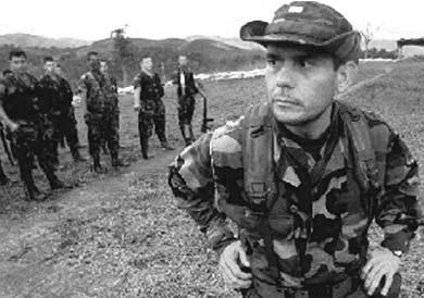 Carlos Castaño, líder de los paramilitares