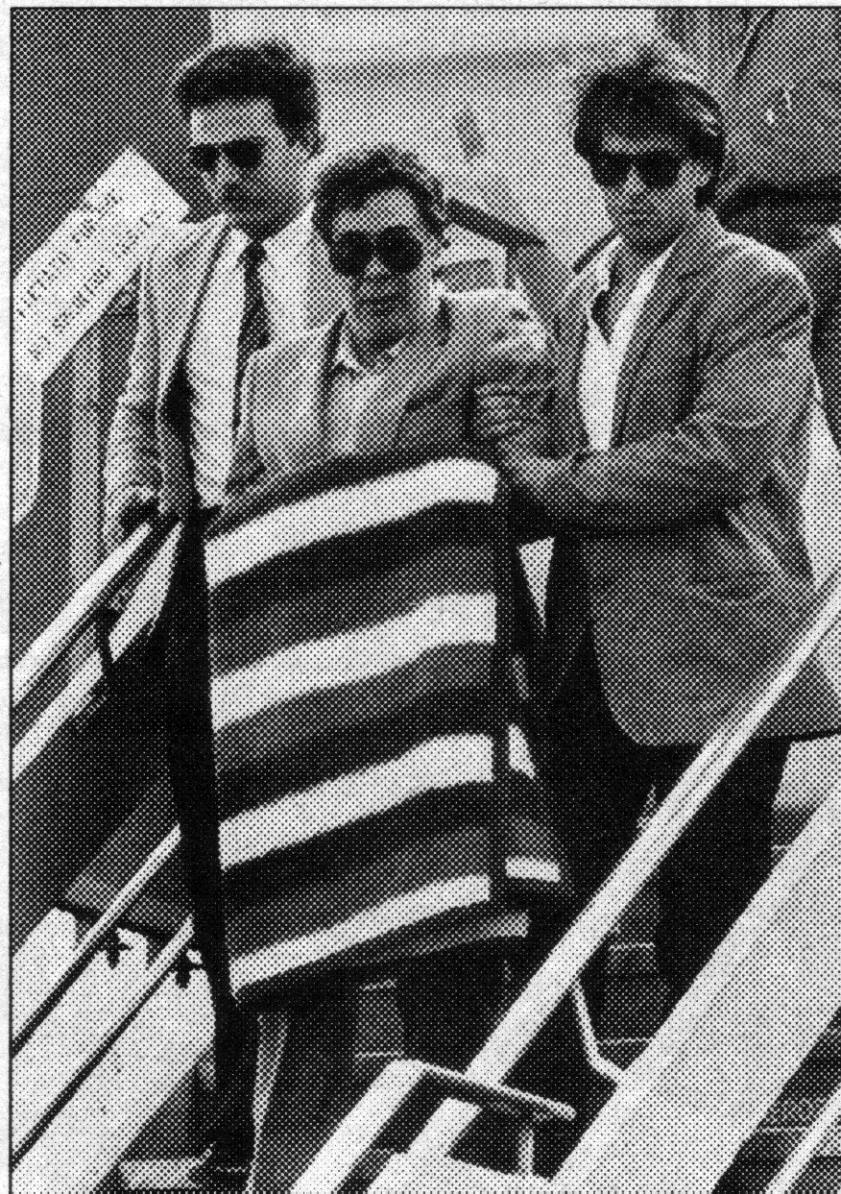 La detención de Tomasso Buseta.