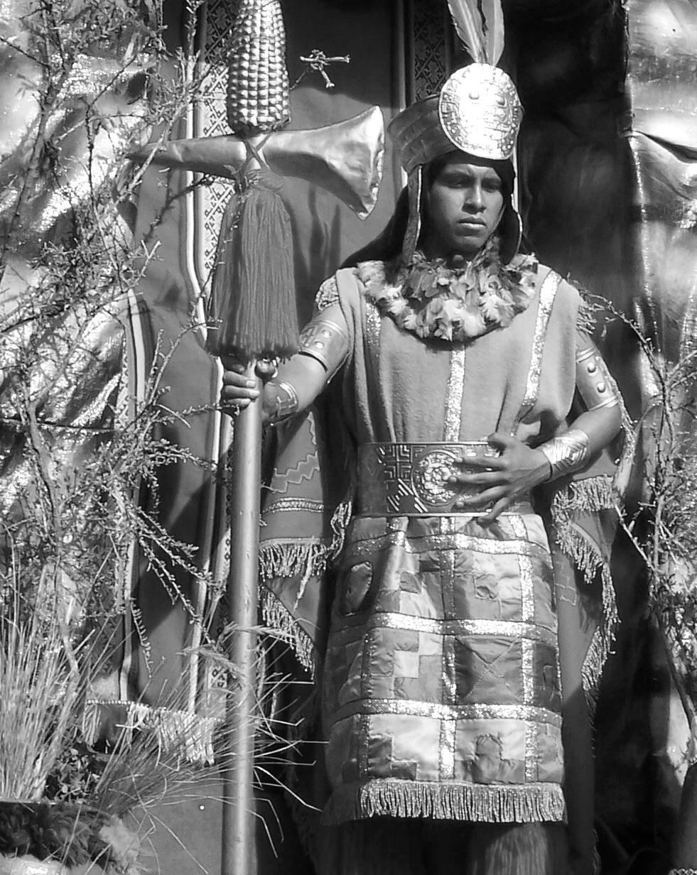 Herederos de los incas.