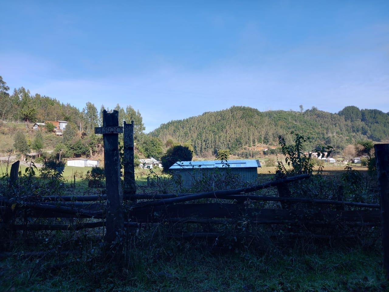 Fundo Santa Ana de Forestal Mininco y comunidades arrinconadas