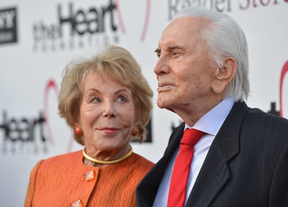 Con su esposa Anne Buydens