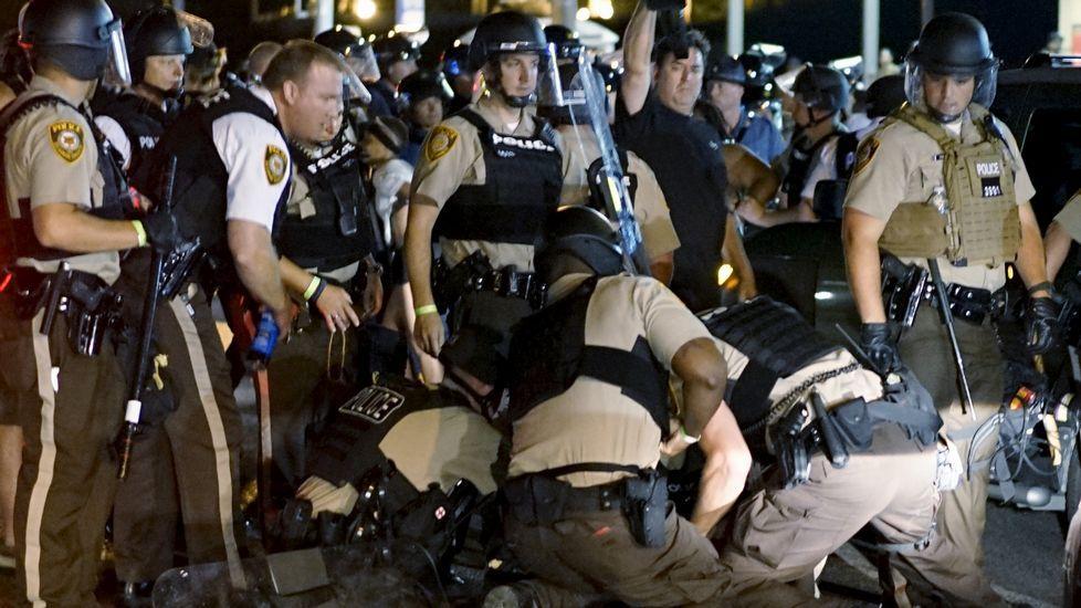 Disturbios en Ferguson. Fotografía Rick Wilking, Reuters