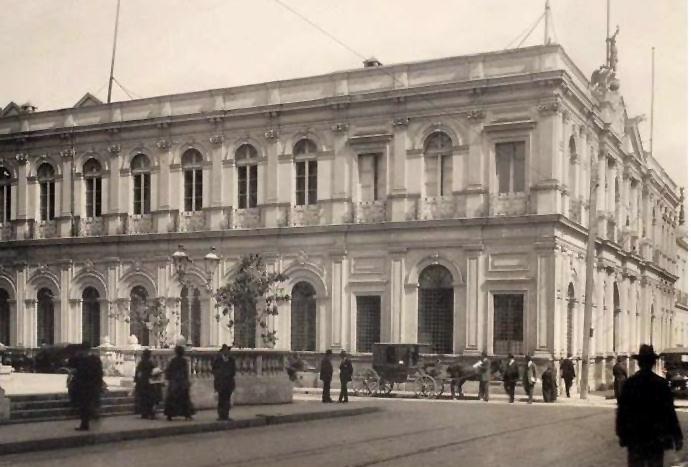 Edificio histórico de El Mercurio de Santiago