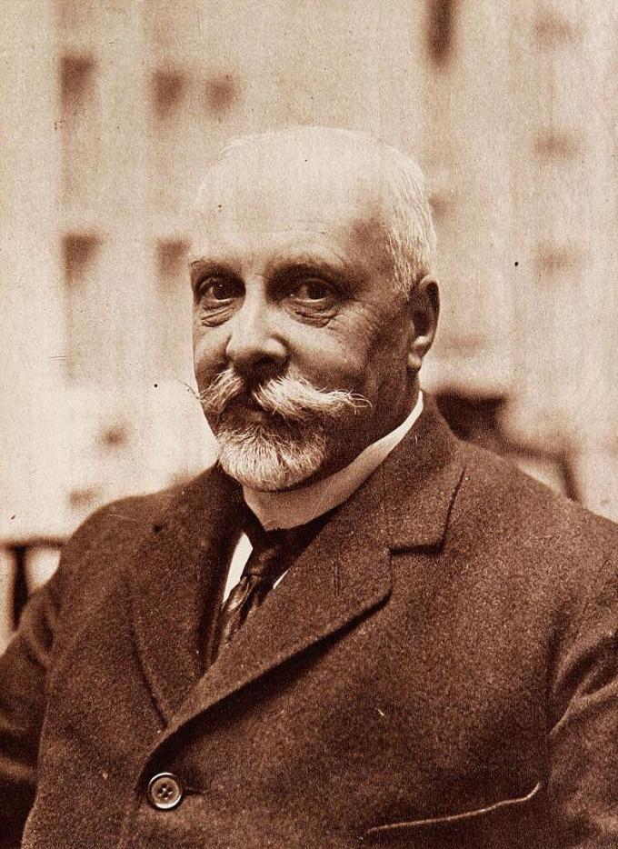 El abuelo de Pepe, Carlos Aldunate Solar, en 1915
