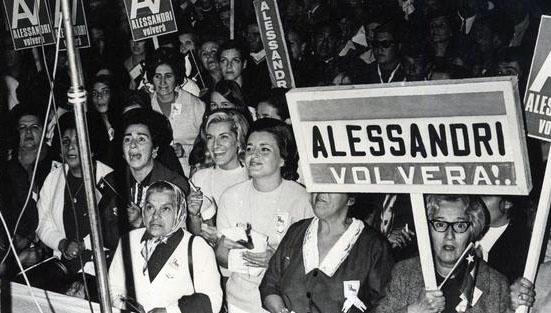 El apoyo de las mujeres. Foto de Celeste Ruiz de Gamboa.