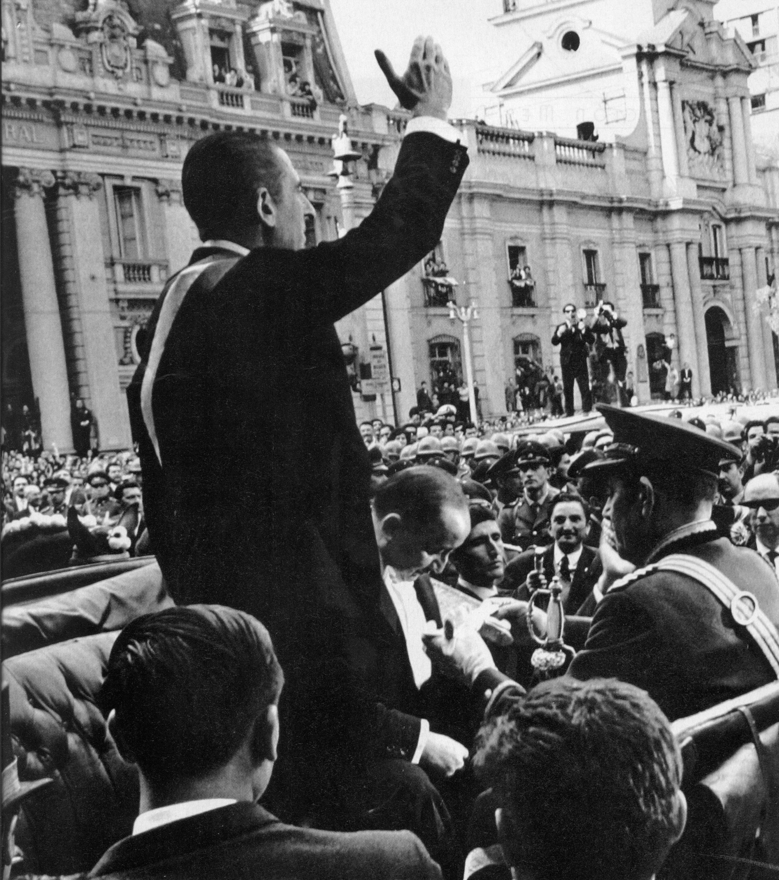 El presidente Eduardo Frei Montalva