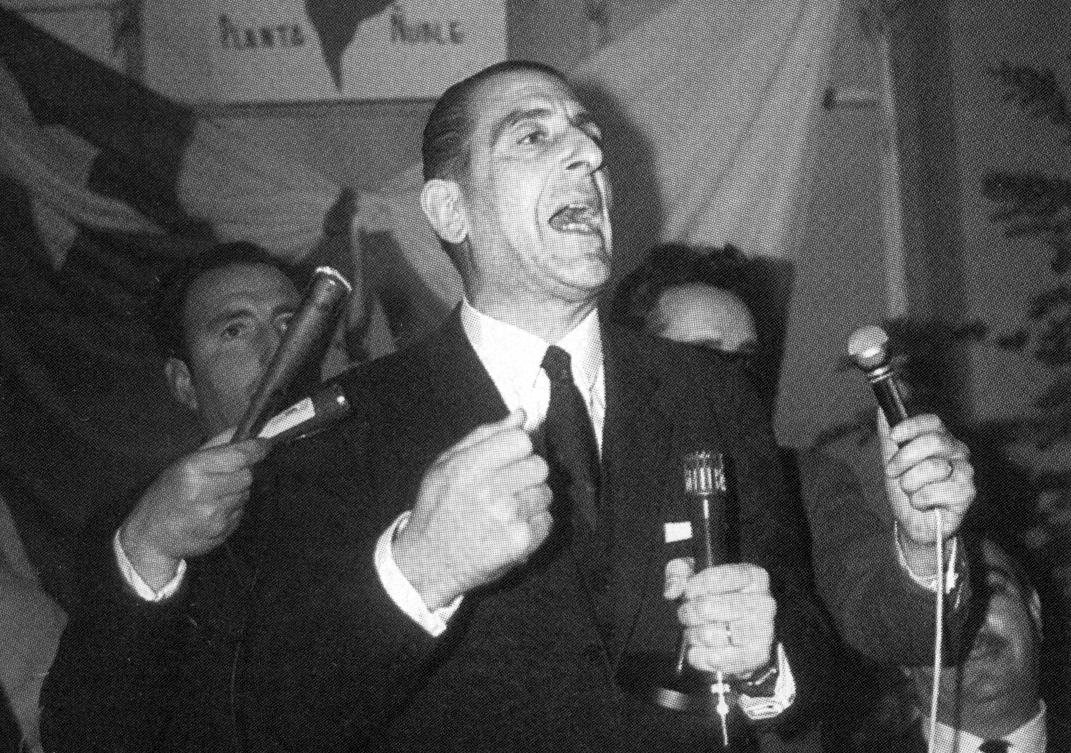El presidente Eduardo Frei Montalva.