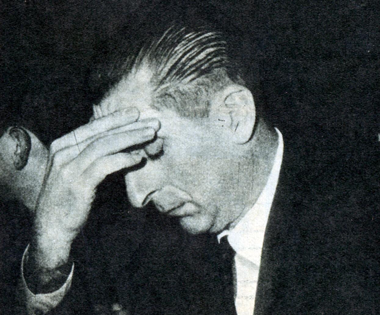 El presidente Frei Montalva tuvo severos problemas con su propio partido, el PDC.