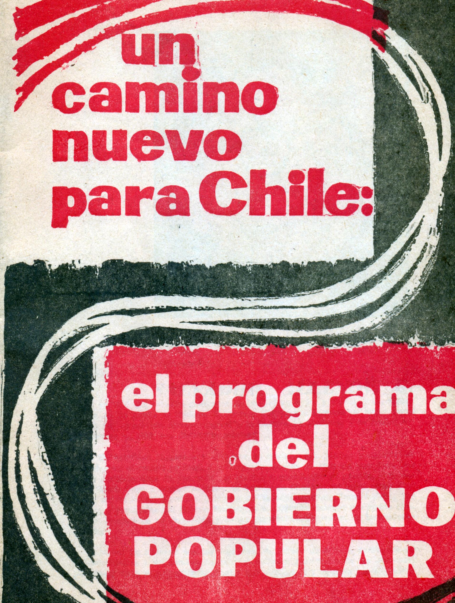El programa de la Unidad Popular.