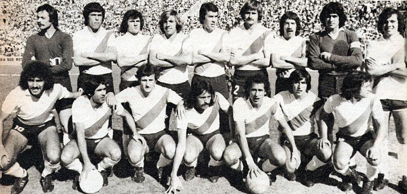 Equipo ganador del Campeonato Metropolitano 1977