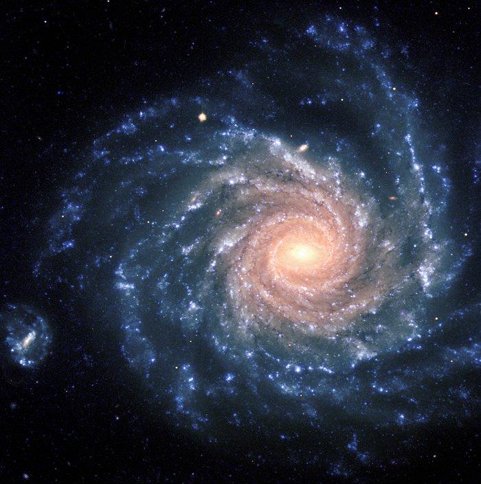Galaxia espiral NGC 1232. (Crédito: ESO)