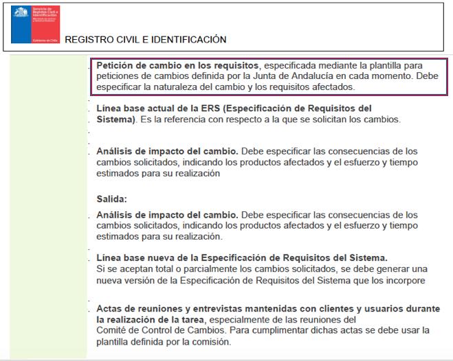 Parte de las bases de licitación del Registro Civil donde se copia el instructivo de la Junta de Andalucía.