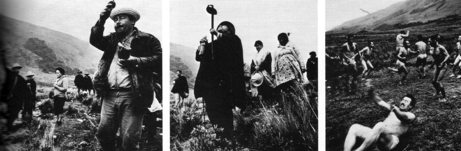 Ceremonia con el cacto San Pedro en las tierras altas de Los Andes. Incluye la plegaria, la purificación y la ofrenda. El chamán se comunica con los espíritus que habitan la planta.