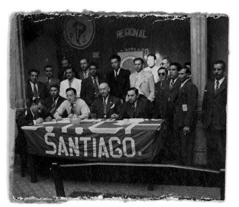 Fundación del Regional Santiago del PS.