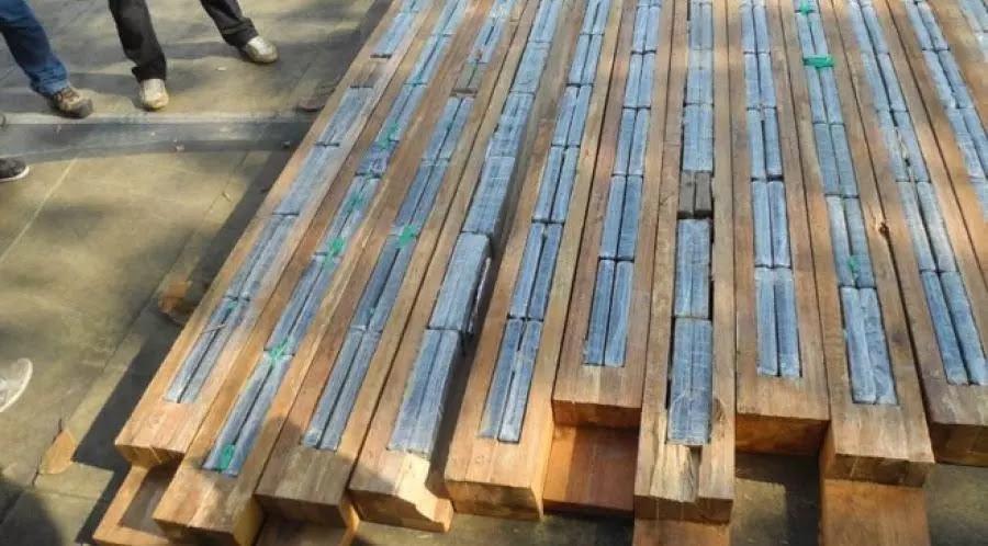 Deflagrada en julio de 2020, la operación Schelde se incautó de unos 250 kg de cocaína en vigas de madera enviadas a Bélgica