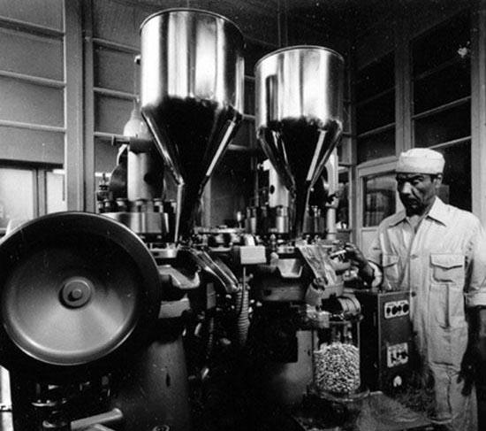 Industria farmacéutica en los 60. Foto de Antonio Quintana.