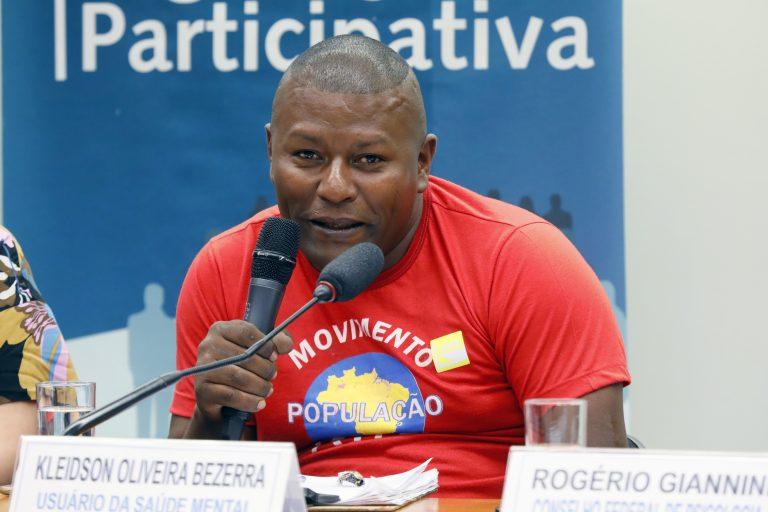 Kleidson Oliveira. Foto: Agência Câmara de Notícias