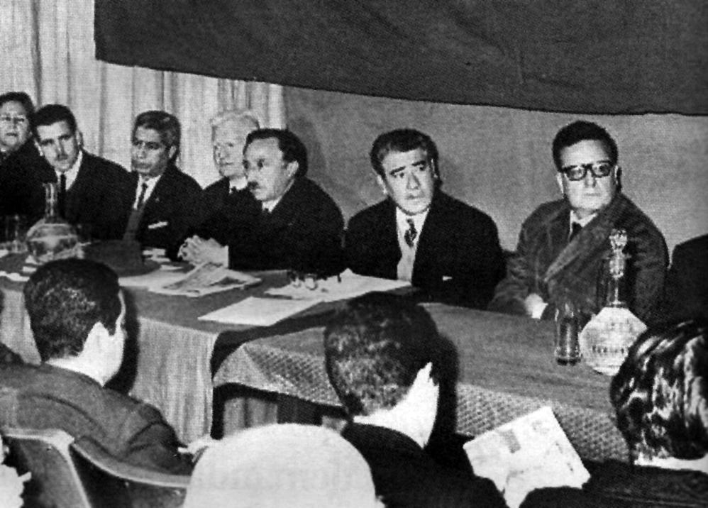La conferencia de la OLAS en Santiago.