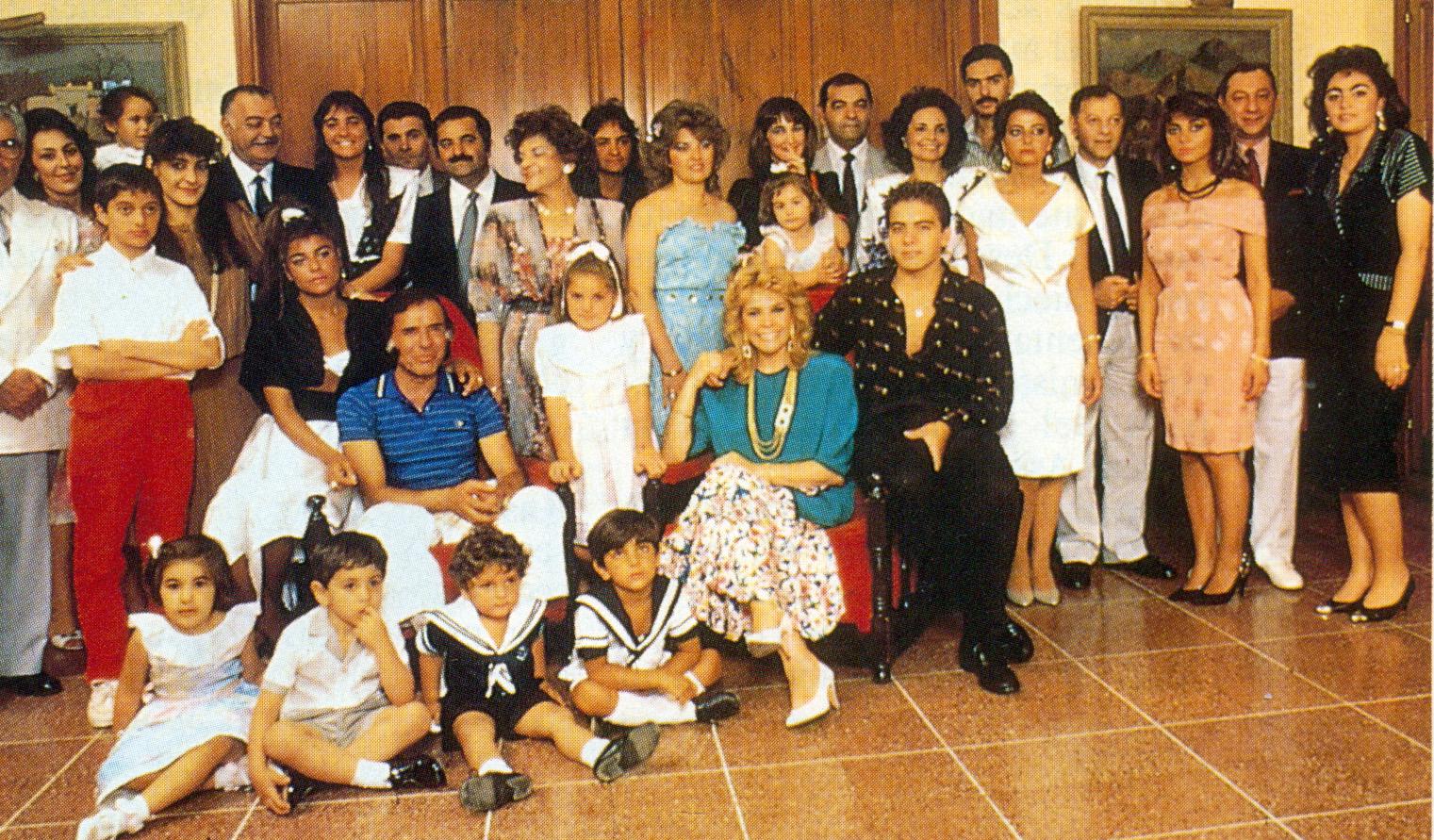 La familia Menem Yoma.