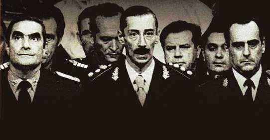 La junta militar argentina.