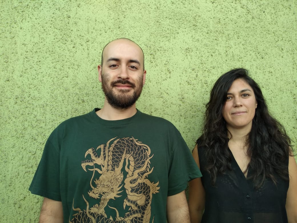 Iván Sandoval y Rocío Núñez.
