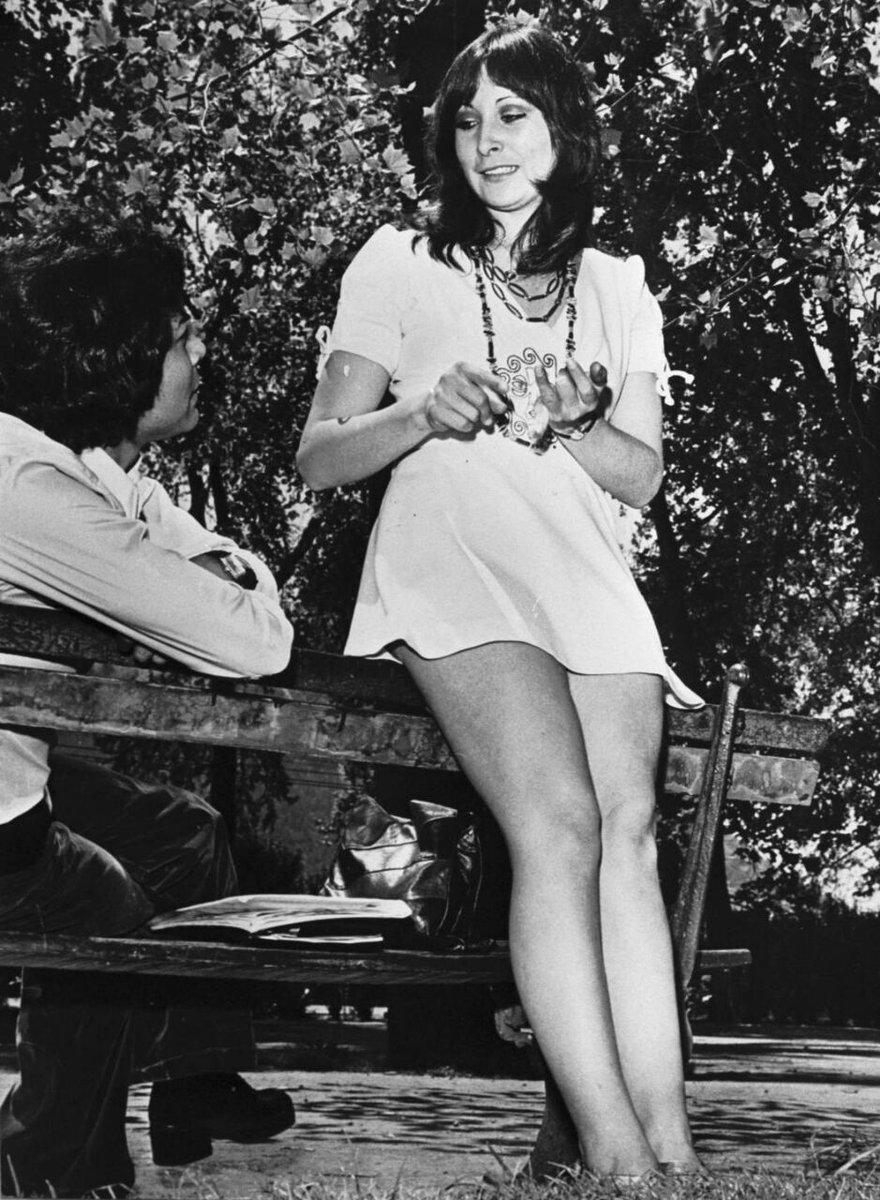 Mónica Lagos en 1978