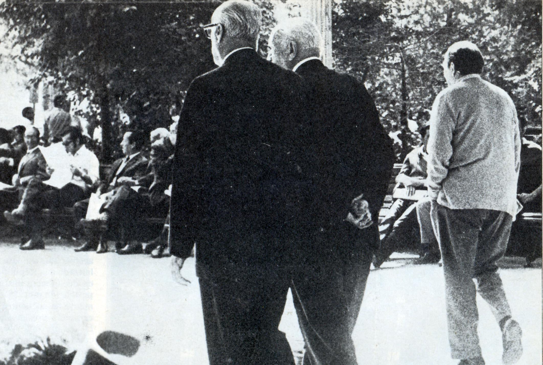 Paseando por Plaza de Armas con Arturo Matte