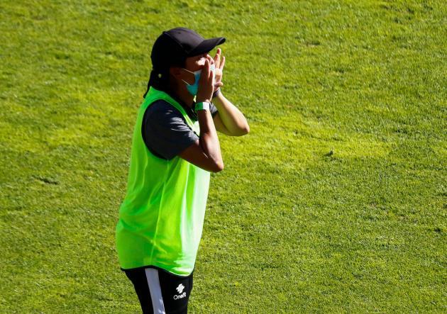 Paula Navarro. Foto Prensa Fútbol