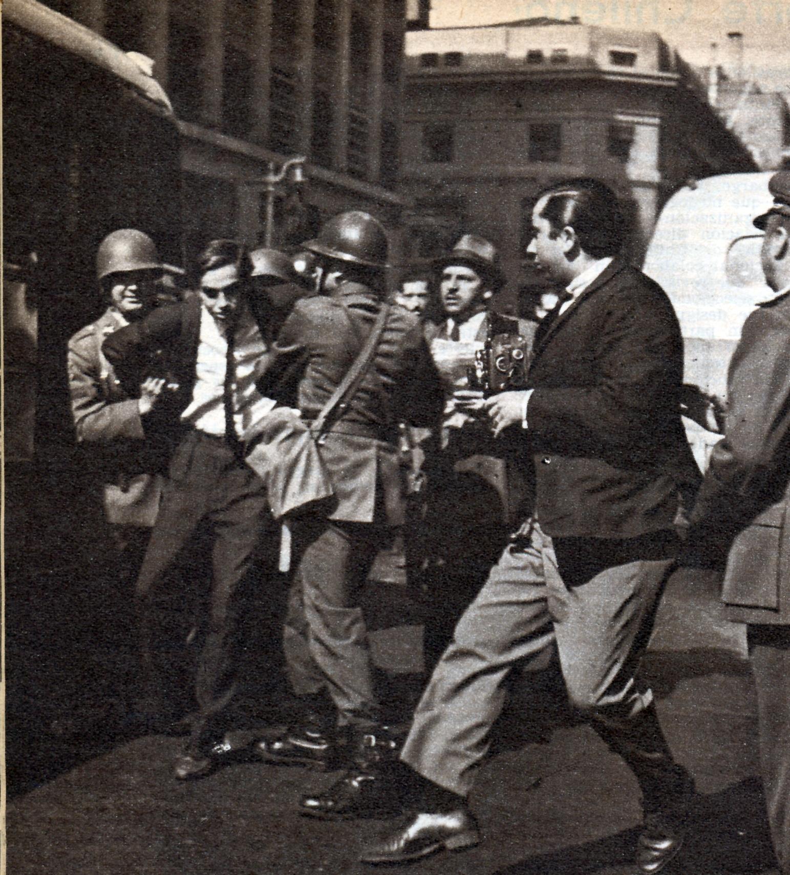Protestas callejeras por el aumento de la inflación.