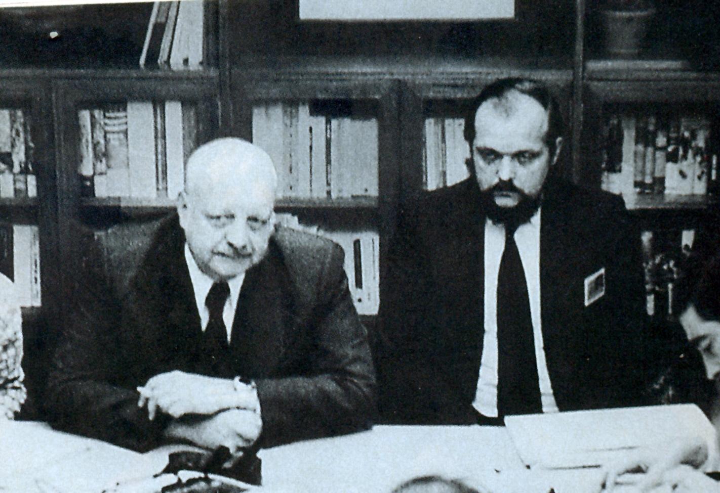 Roberto Kelly y Ernesto Silva Bafalluy