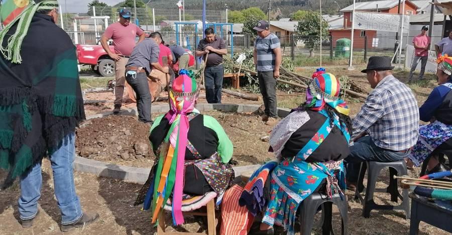 Fotografía del Facebook Centro de Salud Mapuche Galvarino