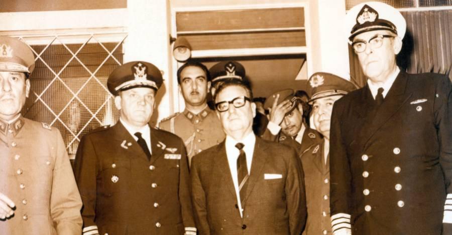 Allende sereno a la hora del triunfo