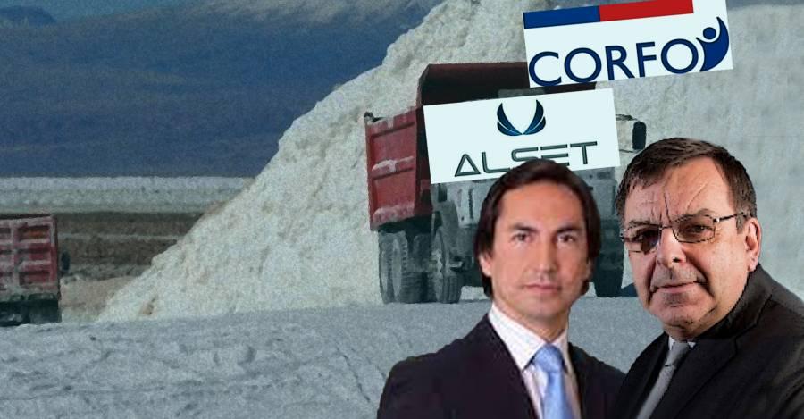 José Ignacio Galindo, fundador de Alset; Juan Rada Mladinic, director de Alset.