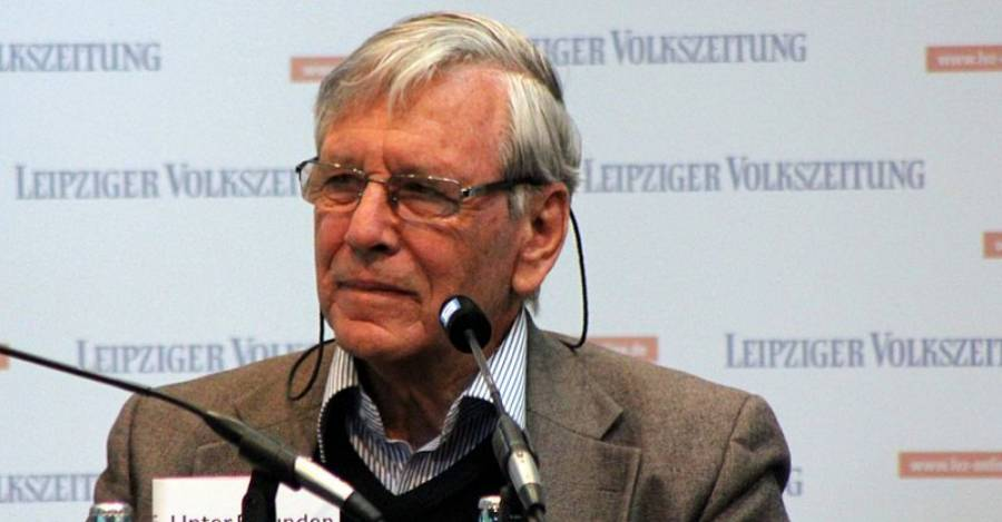 Amos Oz, Leipzig Book Fair 2013